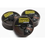 Captive Coated Hooklink Brown 35Lb