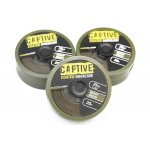 Captive Coated Hooklink Weedy Green 35Lb
