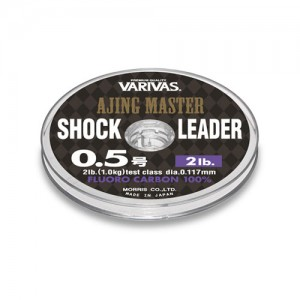 Varivas Ajing Master Shock Leader Fluoro 0.8