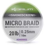 Korum Smokescreen Micro Braid 20lb