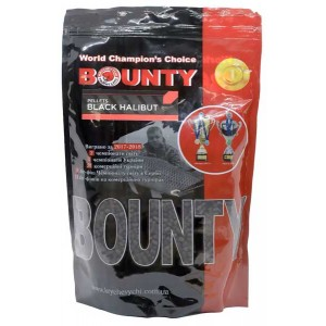 Bounty Black Halibut Pellets 6/0.8