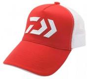 Daiwa Logo Mesh Cap - Red