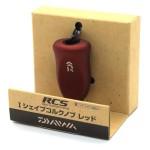 RCS I Shape Cork Knob Red