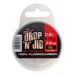 Fox Rage Drop 'N' Jig Fluorocarbon - 0.40/50