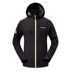 BKK Soft Shell Jacket - Black Grey
