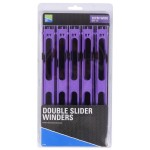 Double Slider Winders 26 См Wide Purple