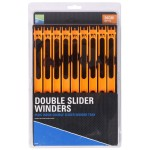 Double Slider Winders 26 См Orange-Tray