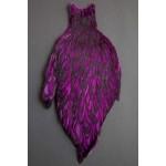 Whiting American Hen Cape BLW-Purple
