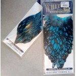Whiting American Hen Cape and Saddle BLW-Silver Dr. Blue