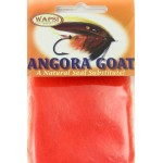 Wapsi Angora Goat Dubbing - Fluorescent Fire Orange