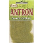 Wapsi Antron Sparkle Dubbing - Light Olive
