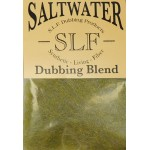 Wapsi SLF Saltwater Dubbing - Smokey Olive