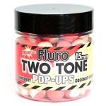 Бойли Strawberry Coconut Cream Fluro Two Tone Pop-Ups 15 Мм