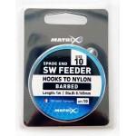 Matrix SW Feeder Rigs Hooks to Nylon Size 10