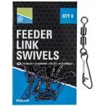 Double Feeder Link Swivels