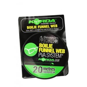 Korda Boilie Funnel Web 4 Season 20M Micromesh Refill
