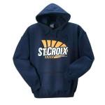 St. Croix Handcrafted Logo Hooded Sweatshirt (SSNAV)