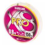 Duel Hardcore X8 PRO Yellow #0.8/150