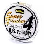 Duel Super X-Wire 4 Silver #0.6/150