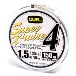 Duel Super X-Wire 4 Silver #1.5/150