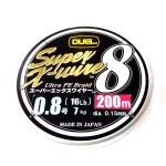 Duel Super X-Wire 8 5 Color #0.8/200