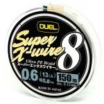 Duel Super X-Wire 8 Silver #0.6/150