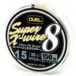 Duel Super X-Wire 8 Silver #1.5/150