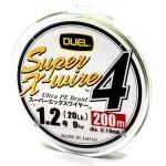 Duel Super X-Wire 4 5 Color #1.2/200