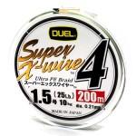 Duel Super X-Wire 4 5 Color #1.5/200
