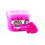 Pink Fluro Pop-Up Pellets Squid & Octopus 22 мм.