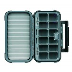 Large 12-Compartment Blue Ribbon Fly Box