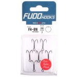Fudo Hooks Double Black #2