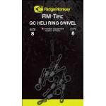 RM-Tec Quick Change Heli Ring Swivel 8