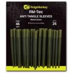 RM-Tec Anti Tangle Sleeves Weed Green 45