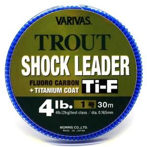 Varivas Trout Shock Leader Ti-F #1.0