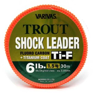 Varivas Trout Shock Leader Ti-F #1.5