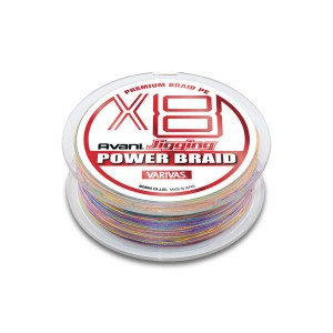 Varivas Avani Jigging Power Braid PEx8 1.2/200