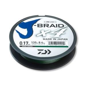 Daiwa J-BRAID X4 Green 0.13/135