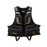 Varivas Combination Floating Vest VAL-12 - Black-LL