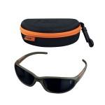 Fox Xt4 Sunglasses - Green Frame - Grey Lense