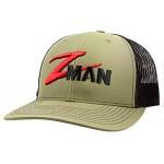 Structured Trucker Hat - Loden Black