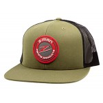Flatbill Trucker Hat - Loden Black