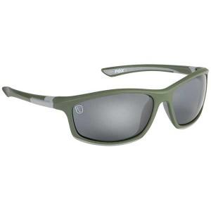 Fox Collection Green Silver Frame - Grey Lens