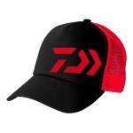 Daiwa D-VEC Trucker Cap Black-Red