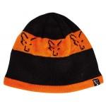 Fox Black & Orange Beanie