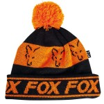 Fox Black & Orange Lined Bobble