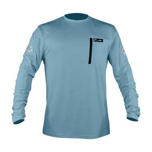 Pelagic Aeroflex Tek Shirt Slate