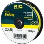 Бэкинг RIO Fly Line Backing 20lb - Chartreuse