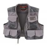 Simms Freestone Fishing Vest - Hex Flo Camo Carbon XL