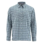 Simms Bugstopper Shirt - Storm Plaid